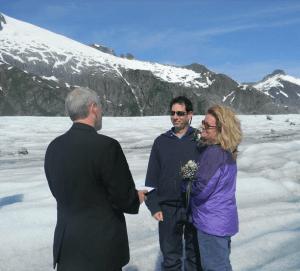 Get Married on a Glacier