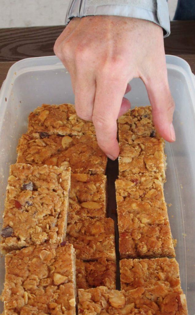 granola bar eatwalklearn
